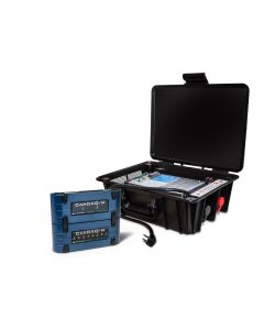 CarDAQ-M-MegaCAN and 90A Battery Maintainer Bundle