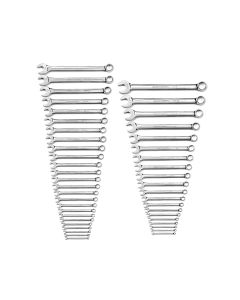 44 PC MASTER COMB WRENCH SET  SAE/MM