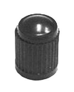 100-pk of Black Plastic Tire Valve Stem Cap