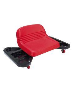 Low profile detailing seat