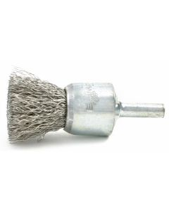 """3/4"""" Solid Wire End Brush, .006"""