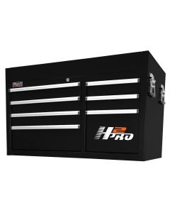 Homak Mfg. 41 in. H2Pro 8 Drawer Top Chest - Black