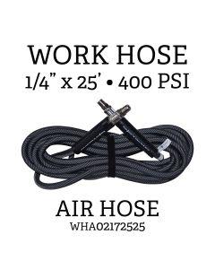 1/4 in. x 25 ft. Flexible Air Hose