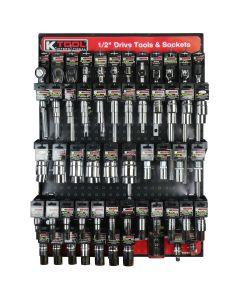 "1/2"" Drive Tools and Sockets Display Assortment"