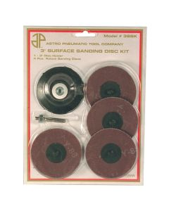 """3"""" Roloc Holder and 4 Pads Surface Prep Kit"""