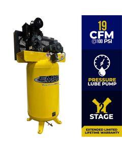 Compressor 5 HP 2 Stage 1 Ph Vert. 80 Gal