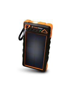 Solar Power Bank 8,000mAh with Flashlight