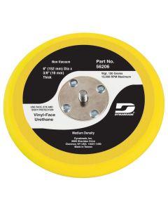 Dynabrade 6 in. Diameter Non-Vacuum Disc Pad, Vinyl-Face