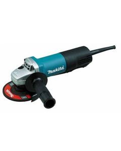 """Makita 4-1/2"""" Paddle Switch Angle Grinder, with AC/DC Switch"""