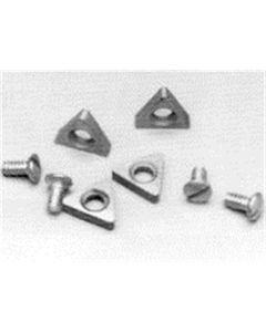 Negative Rake Carbide Insert (2 Pack)