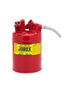 Jobox Type II Safety Can, 2 Gallon, Red