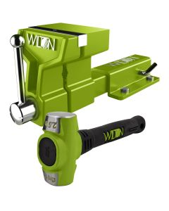 Special Edition B.A.S.H. 5 in. ATV Vise w/ Mounting Bracket and 2-1/2 lb. Sledge Hammer