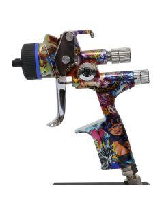 True Soul X5500 HVLP Limited Edition Spray Gun, 1.3 O, w/RPS Cups