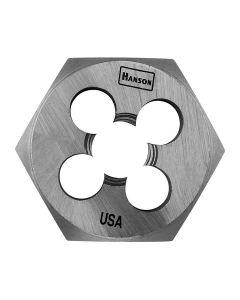 "High Carbon Steel Hexagon 1-7/16"" Across Flat Die 3/4""-16 NF"