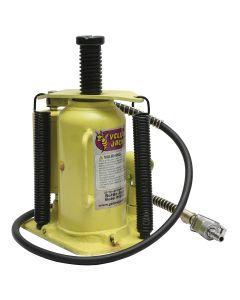 20-Ton Air Hydraulic Bottle Jack-Yellowjackit