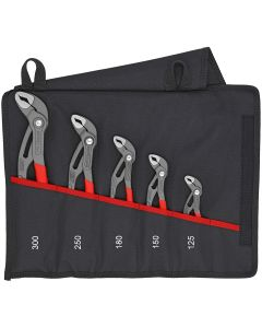 Knipex 5-Piece COBRA PLIERS SET in. TOOL POUCH