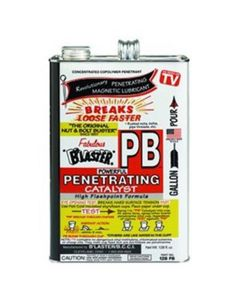 Penetrating Oil Catalyst and Non-Evaporating Lubricant, Breaks Free Rusted Joints, 1 Gal, Case of 4