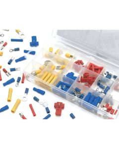 160 Piece Wire Terminal Assortment Kit