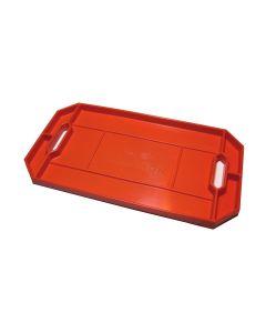 Grypmat Flexible Non-slip Tool Tray, Large, Bright Orange