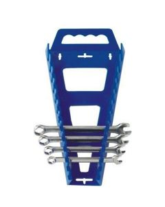 Hansen Global Universal Wrench Rack, Holds 13 Wrenches, Blue