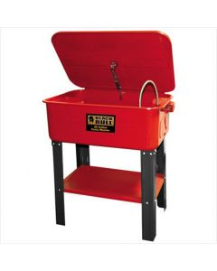 Parts Washer, 20 Gallon Tank, with Flexible Spigot, On/Off Switch, Use Water Based Solvent Only