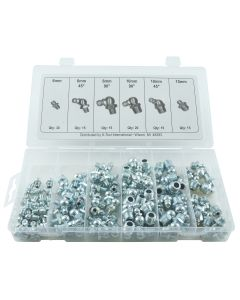110 pc. Metric Grease Fitting Assortment (6-10mm)