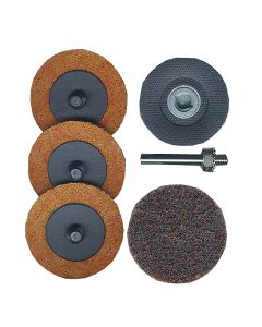 """2"""" Roloc Holder and 4 Pads Surface Prep Kit"""