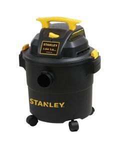 Wet/Dry Vacuum, 5-gallon, Stanley