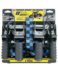Tie Down 8' Ratchet 800lbs 4pk