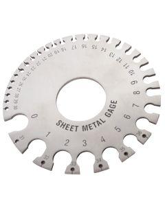 Sheet Metal Thickness Gauge