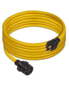 Power Cord L14-30P to L14-30 25ft Extension 10 AWG with Storage Strap