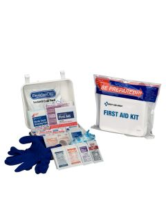 Travel First Aid Kit, 68 Piece, Plastic Case