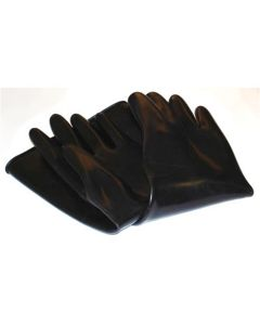 "18"" rubber sandblasting gloves"