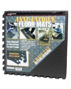 Diamond Shape 2' x 2' Interlocking Anti-Fatigue Mats (Pack of 6)