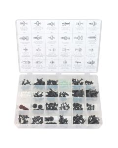 Retainer Assortment - Master Push Type - 120 Piece
