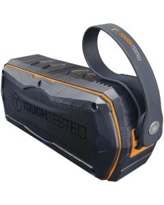 Satellite Rugged Bluetooth speaker with FM tuner and true wireless stereo pairing