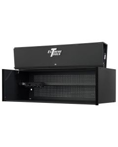 """Extreme Tools RX Series 72"""" Professional Hutch, Matte Black with Black Drawer Pulls"""
