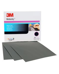 """3M Imperial Wetordry Sand Paper Sheets 9"""" x 11"""""""
