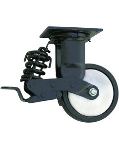 6PK Spring-loaded Casters