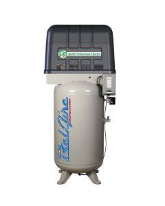 7.5hp 80 gallon Single phase Quiet Piston Compressor