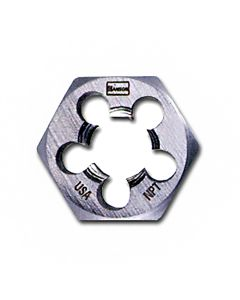 """High Carbon Steel Hexagon Taper Pipe 1"""" Across Flat Die 1/8""""-28 BSP"""
