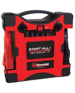 12V 5000 Amp Start-All Corded Jump Pack