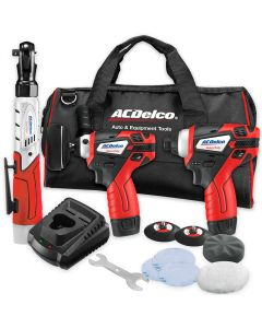 ACDelco G12 Series 12V Lith-Ion Polisher Combo w/Ratchet