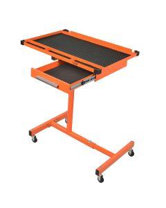 Monster Mobile? HD Adjustable Work Table w/ Drawer, Orange