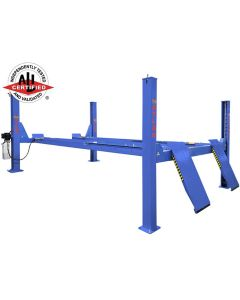 Atlas Platinum 14,000 lb. Capacity 4-Post Open Front Alignment Lift (Prepaid Freight)