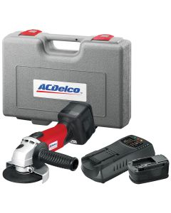 ACDelco Lith-Ion 18V 4-1/2 in. Angle Grinder Kit