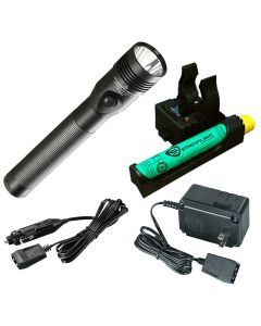 Stinger DS LED HL Rechargeable Flashlight with AC/DC and PiggyBack Charger, 800 Lumens