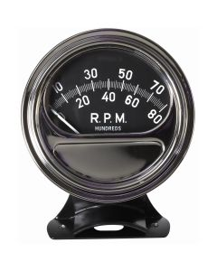 Retro Line Tachometer, 90 Sweep