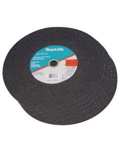 Makita 14 in. x 1 in. x 1/8 in. Abrasive Cut Off Wheel (Pack of 5)