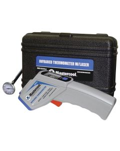 "Infrared Thermometer in Case with FREE MSC52220 1"" Analog Thermometer"